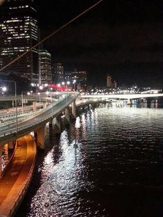 Brisbane lights...