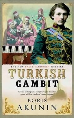 book cover of   The Turkish Gambit - and this..