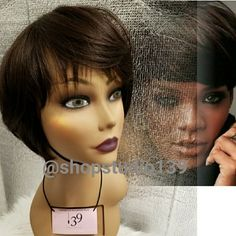 I just added this listing on Poshmark: Sexy pixie cut human hair wig. #shopmycloset #poshmark #fashion #shopping #style #forsale #Accessories