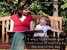 5 ways to increase your child's learning by the end of the day
