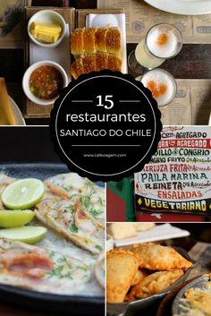 Top Comidinhas e Restaurantes em Santiago do Chile para provar na viagem