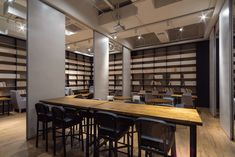 Gallery of Variable Wonderful Space - Underline Cafe / LYCS Architecture…
