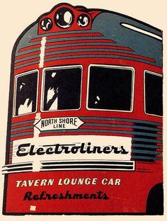 Electroliner Tavern Lounge Car