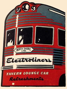 Electroliner Tavern Lounge Car