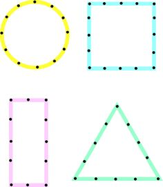 dot to dot - drawing shapes