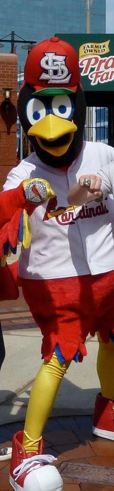 Fred Bird with his World Series Ring! Bling Bling!!