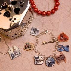 Just like how Alice shrunk to a miniature version of herself, watch these fun charms shrink into a piece of long-lasting plastic jewelry. Make a charm bracelet, necklace, cell phone charm -- any trinket you desire!