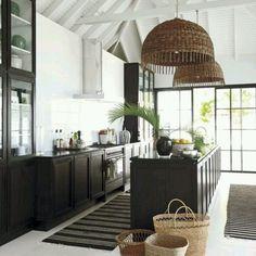 Wow...stunning beach house kitchen