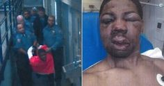 New York City Corrections Commissioner said that he would fire a captain and 5 prison guards for hog-tying and beating Rikers Island inmate
