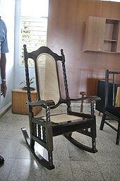 Sillón fabricado en la fábrica Muebles Imperio