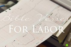 Bible verses for labor