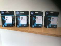 Hp 82 +10 Design Jet - Ink Cartridge Set BLACK/MAGENTA/CYAN/YELLOW Expiry 2021  #HP