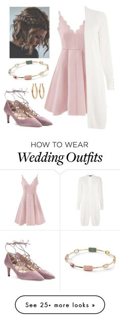 """The Perfect Wedding Guest"" by lklfamily on Polyvore featuring Dorothy Perkins, Ippolita, Valentino and Kenneth Jay Lane"