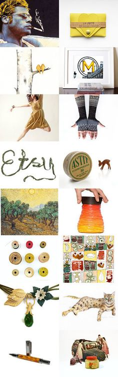 Brad Pitt , Paris , And Fine art ... by Elinor Levin on Etsy--Pinned with TreasuryPin.com