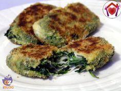 Un modo per gustare gli spinaci in tutto il loro sapore: crocchette di spinaci.