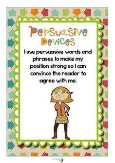 mentor texts for persuasive writing
