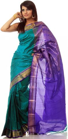 have always wanted a sari.  Love these colors