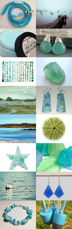 Maine by the Sea by Jeanne Costello on Etsy--Pinned with TreasuryPin.com
