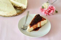 Cheesecake cu dulceata de visine