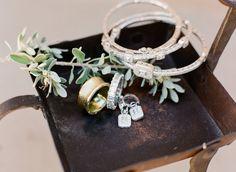wedding jewelry - photo by Gina Meola Photography http://ruffledblog.com/gem-toned-garden-wedding-in-arizona