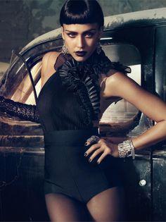 Jessica Alba By Michelangelo Di Battista For Vogue Italia, April 2011