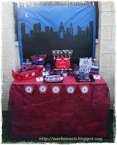 Candy bar 5 Kit de fiesta spiderman. Merbo events by Merbo Events, via Flickr