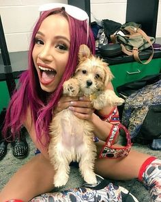 Find images and videos about dog, wwe and boss on We Heart It - the app to get lost in what you love. Wrestling Stars, Wrestling Divas, Women's Wrestling, Black Wrestlers, Wwe Female Wrestlers, Wwe Backstage, Wrestlemania 29, Mercedes Kaestner Varnado, Wwe Sasha Banks