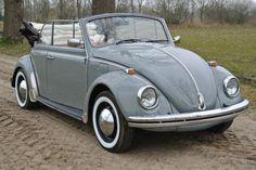 Volkswagen Kever Cabriolet ''Type 1500'' uit 1969