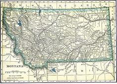 railroad history Montana | etc united states montana montana 1909 site map montana 1909