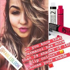@fabledlook #dermacol #16hlipcolour #bestprice #bestmakeup #shades #lovedermacol ❤️❤️❤️ #worldwidedelivery🌎 #kiss #perfectlips #lovecosmetics #onlyoriginal #longlasting #colour 🌈 Lip Colour, Color, Did You Know, Knowing You, Kiss, Make Up, Shades, Hair, Beauty