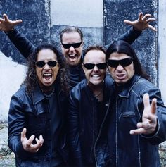 Metallica - older stuff was better, but still a good band.