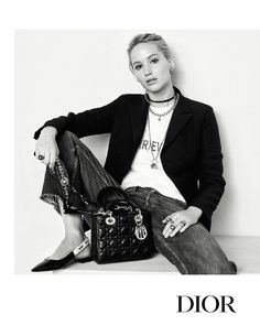 Jennifer Lawrence is comfortably chic in the Fall 2017 Dior campaign.
