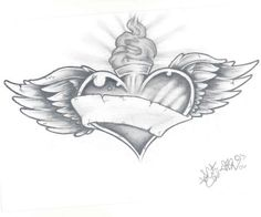sacred_heart_tattoo_by_despisedicon