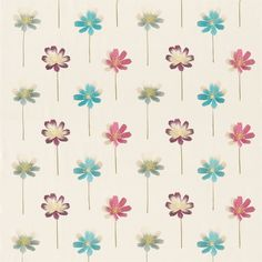 Products   Harlequin - Designer Fabrics and Wallpapers   Flora (HEMB130100)   Floris Embroideries