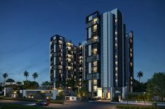 Introducing, Gini Lake Gardenz a luxurious residential complex of 3 BHK apartments and penthouses.