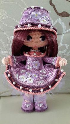 Yarn Dolls Crochet Dolls Poupon Amigurumi Doll Doll Toys Knitting Patterns Crochet Patterns Arts And Crafts Angeles News - Salvabrani Yarn Dolls, Knitted Dolls, Crochet Dolls, Crochet Baby, Crochet Doll Pattern, Crochet Patterns Amigurumi, Amigurumi Doll, Holiday Crochet, Doll Tutorial