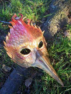 Leather Phoenix mask