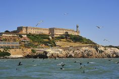 Alcatraz island, California I've always wanted to visit here.