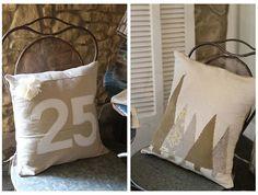 love the xmas tree pillow.