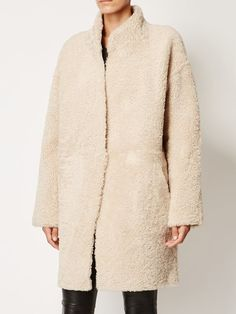 32 paradise sprung brothers reversible shearling coat