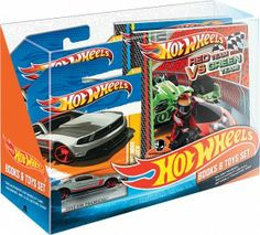 Hot Wheels Books & Toys Set
