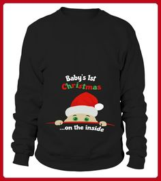 Babys 1st Christmas on the inside - Shirts für paare (*Partner-Link)