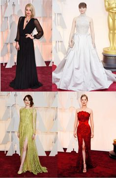 """Favorite Oscar looks 1"" by london-wanderlust ❤ liked on Polyvore"