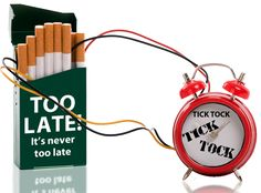 Stopping smoking can actually reduce your anxiety!!