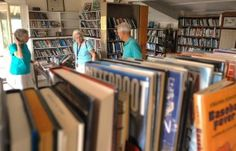 """""""Please turn off the lights when you leave."""" With no heat, automated library system, or computers, this library in the Adirondacks has been loaning books on the honor system since the early 1900s."""