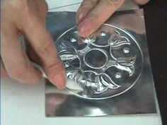 How to reuse the aluminum from a can. Create beautiful metalwork art that you can frame and display,