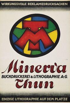 Buchdruckerei Minverva Thun – Unbekannt