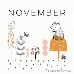 Lizzie Mackay: How can it be November already? How? How? How ...