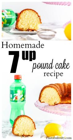 SO good and so easy!! Homemade 7up pound cake