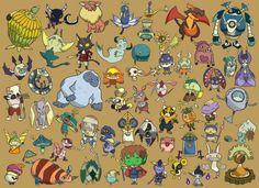 So many familiars! I love them all!